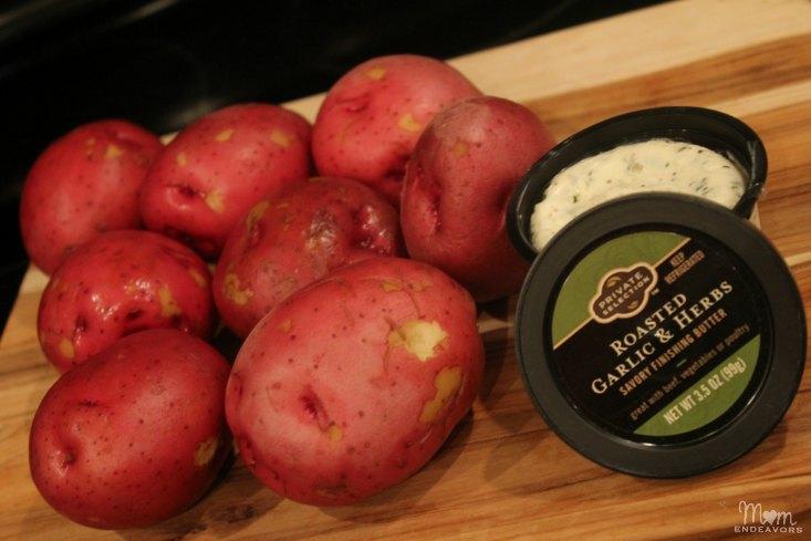 Roasted Garlic & Herb Red Potatoes