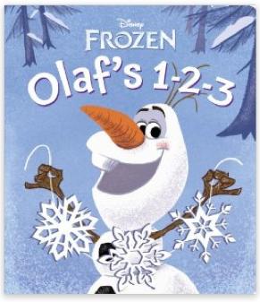 Disney Frozen Olaf Book