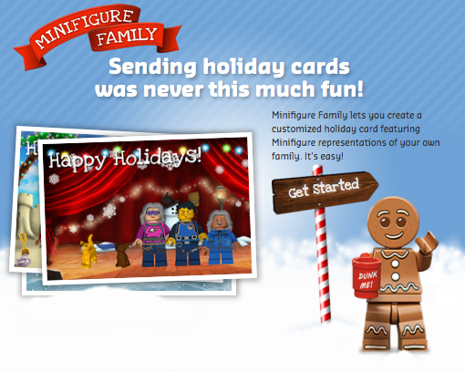 Make a LEGO minifugre card