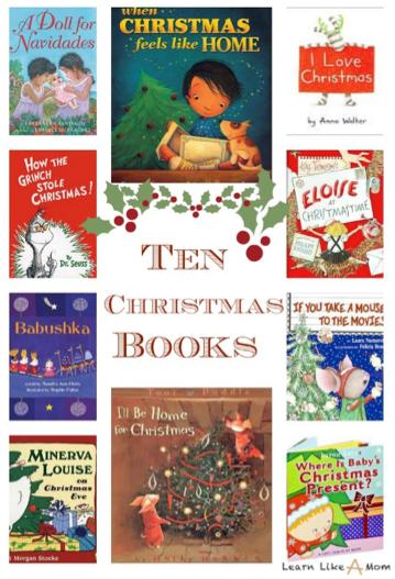 Ten Christmas Books for Kids