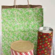 Upcycled Christmas Gift Packaging with Holiday Duck Tape®