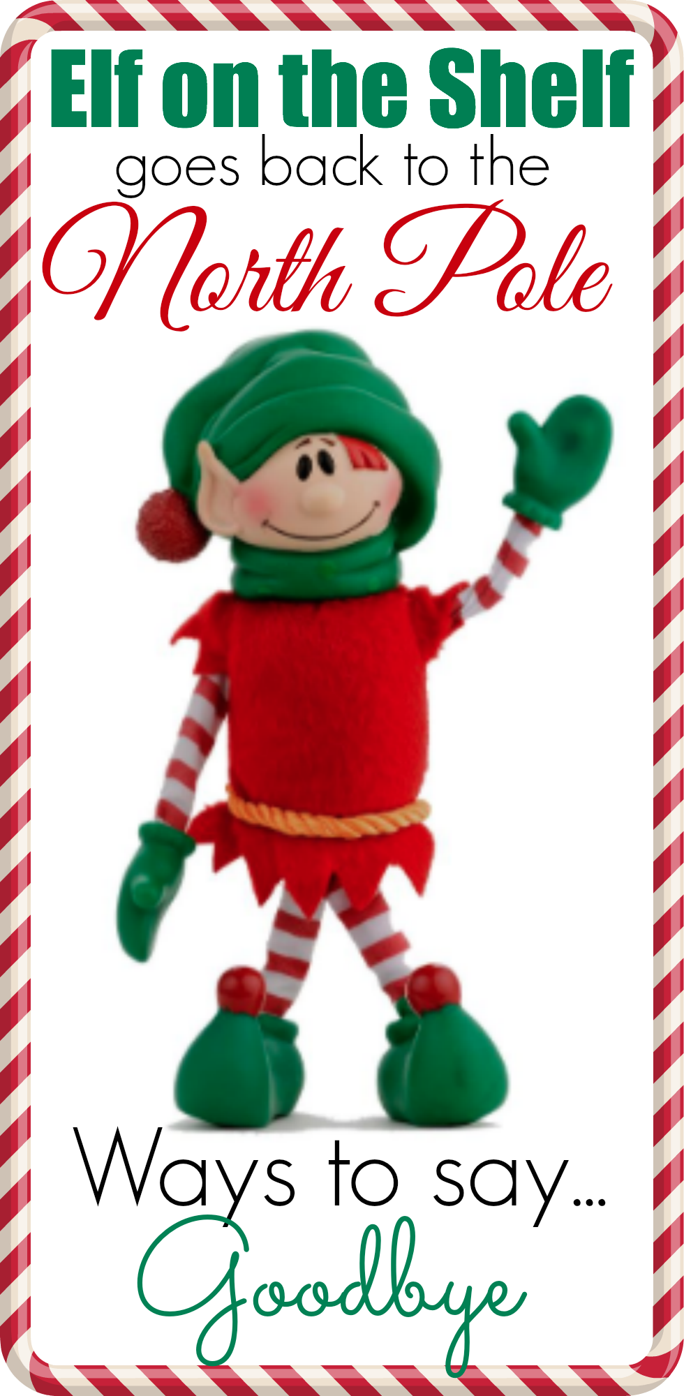 photograph about Printable Elf on the Shelf Goodbye Letter called Options for Claiming Goodbye toward your Elf upon the Shelf