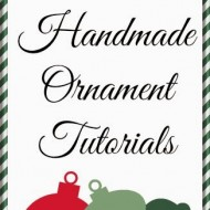 40+ DIY Christmas Ornaments