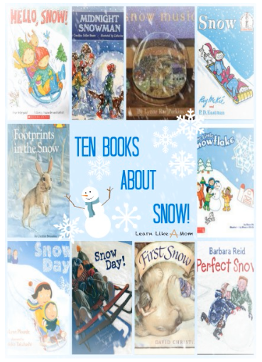 10 Children's Book about Snow