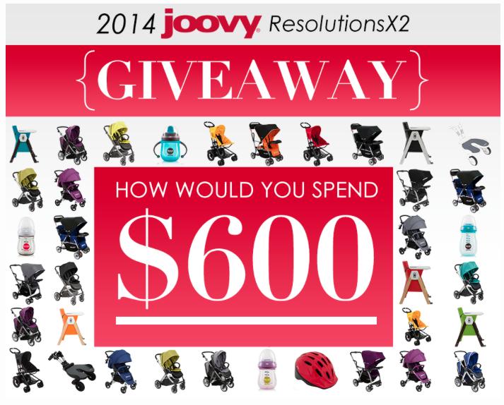 $600 Joovy Giveaway