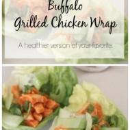Buffalo Grilled Chicken Lettuce Wraps