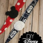 DIY Disney Fabric Tie Headbands