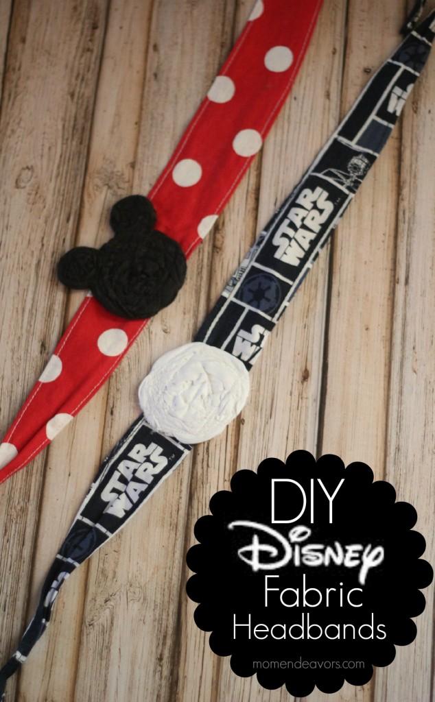 DIY Disney Fabric Tie Headbands
