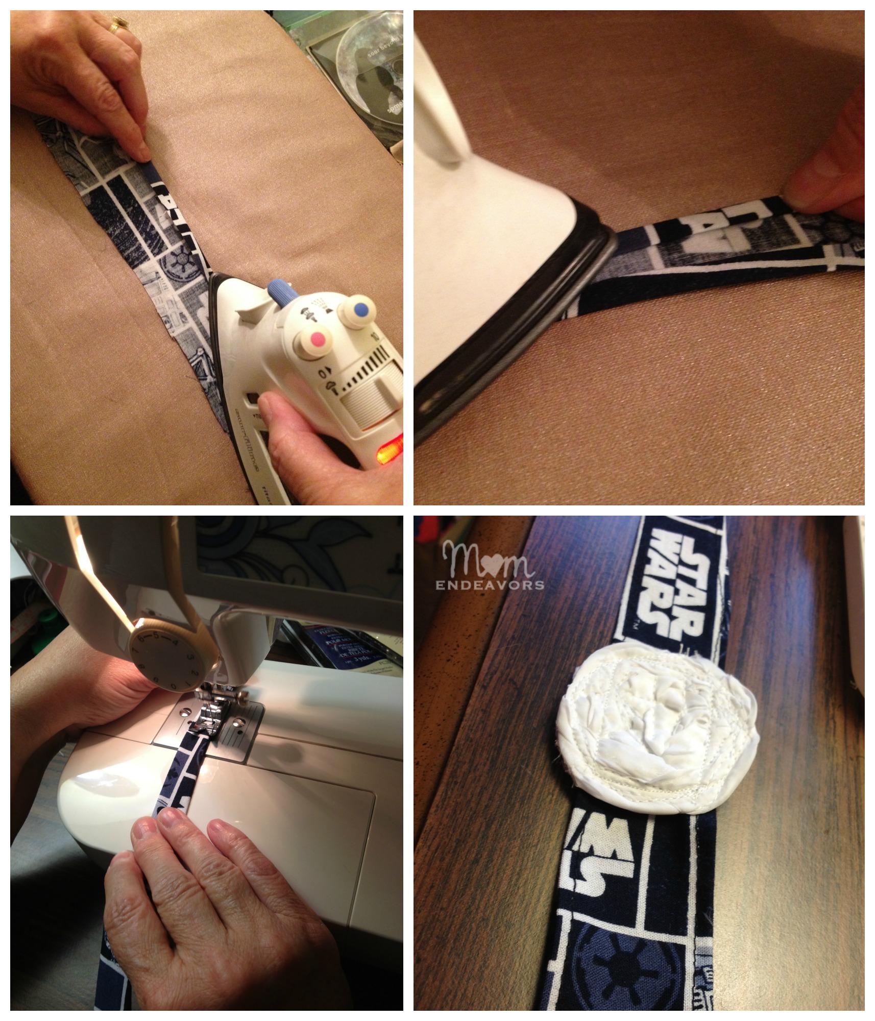 diy disney fabric tie headbands. Black Bedroom Furniture Sets. Home Design Ideas