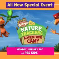 Dinosaur Train on PBS Kids: Nature Trackers Adventure Camp World Premiere