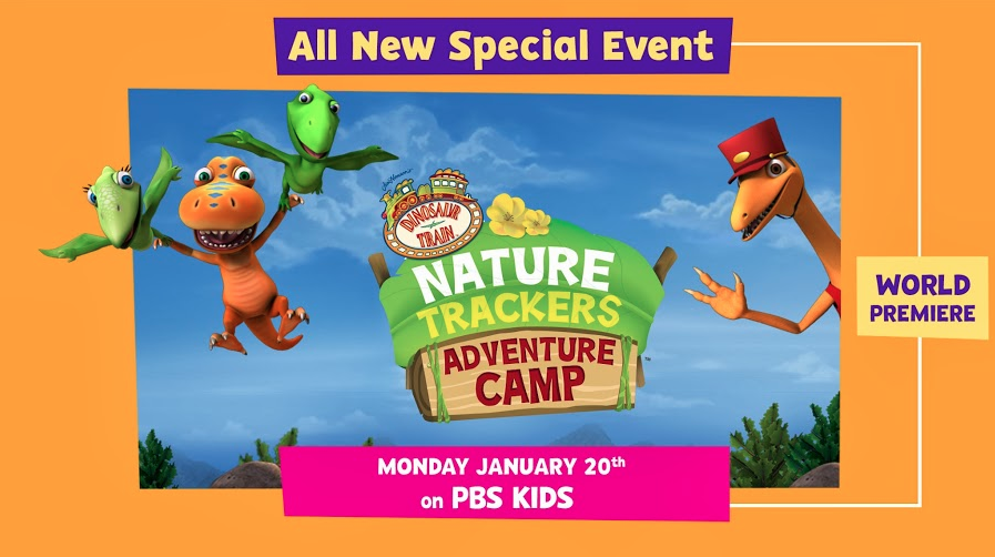 Dinosaur Train Nature Trackers Adventure Camp