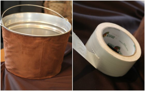 Duck Tape Football Tub