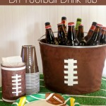 Football Party DIY Drink Tub