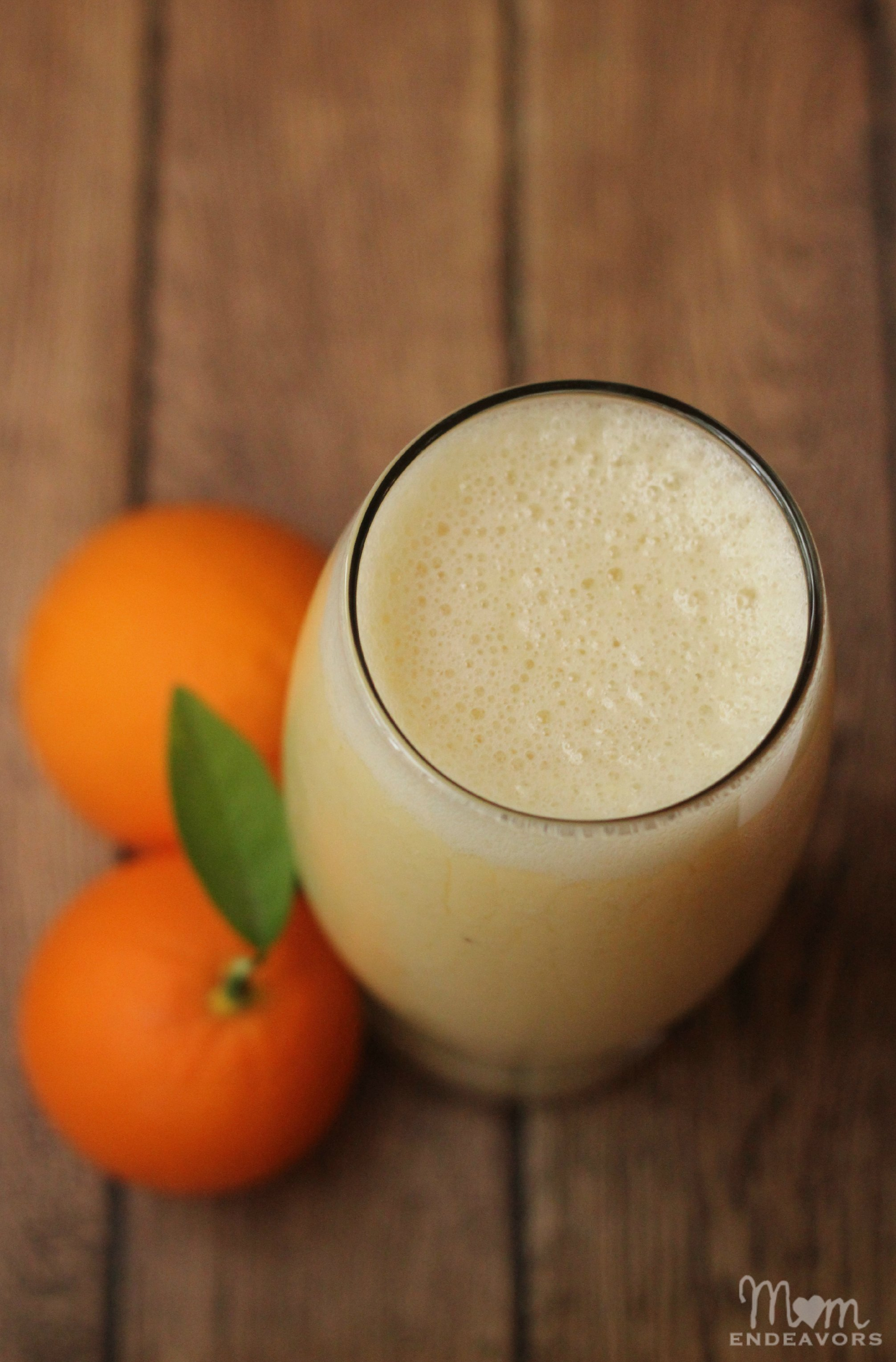 Orange Banana Pineapple Smoothie