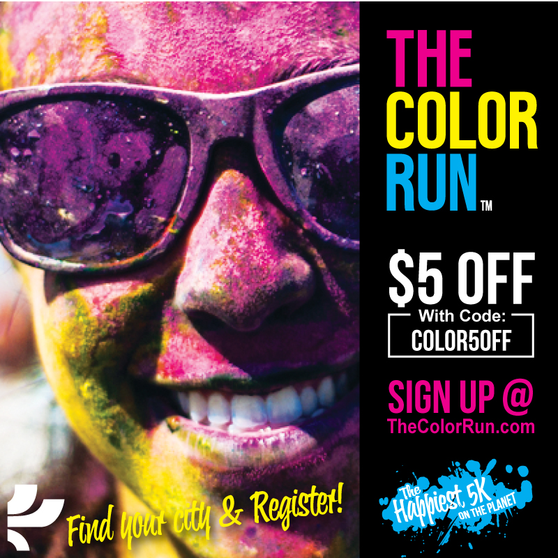 The Color Run Discount Code