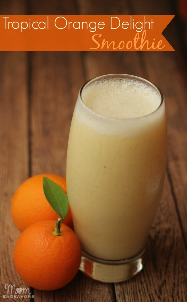 Tropical Organe Delight Smoothie (Dairy Free)
