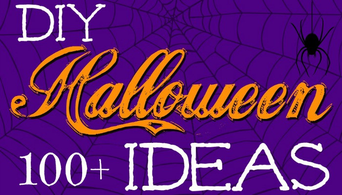 100+ DIY Halloween Ideas