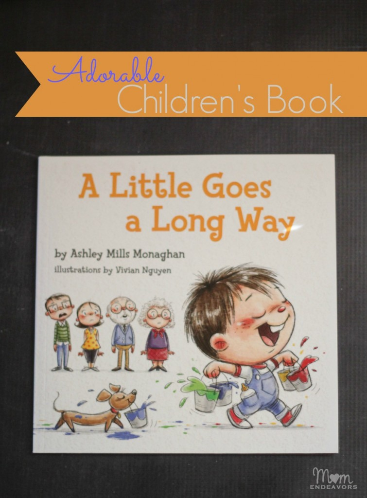 A Little Goes a Long Way Children's Book