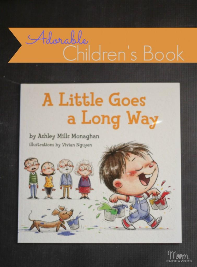 A Little Goes a Long Way Children's Book