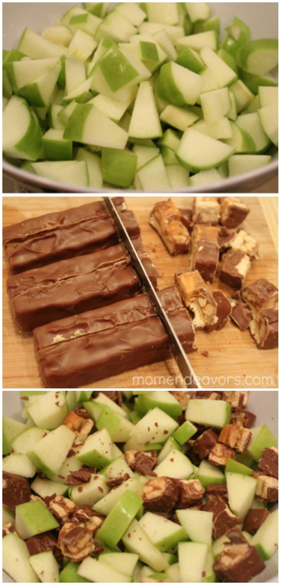 Apple Snickers Dessert
