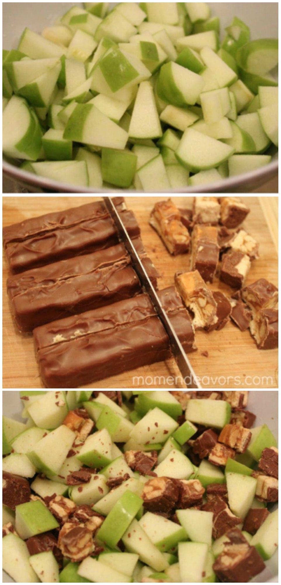 Apple Snickers Dessert