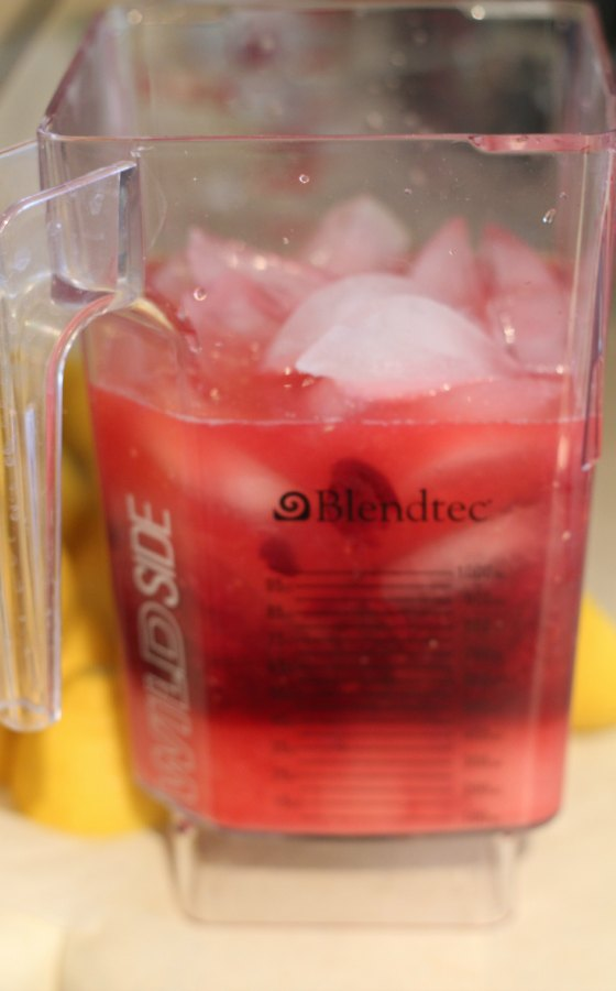 Blended Cherry Lemonade