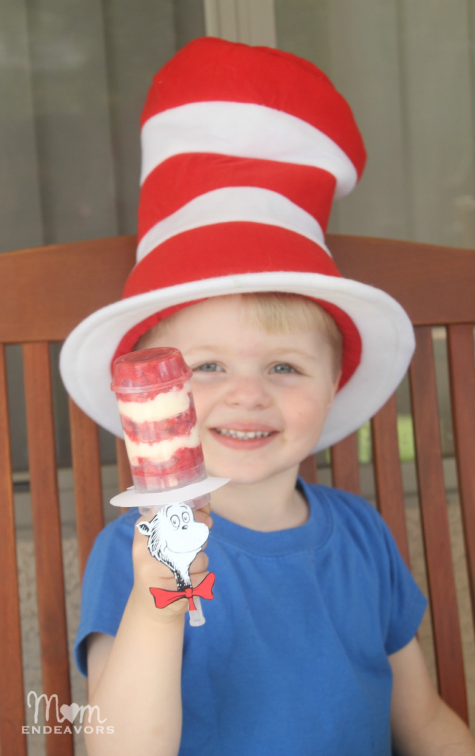 Cat in the Hat Dr. Seuss fun food