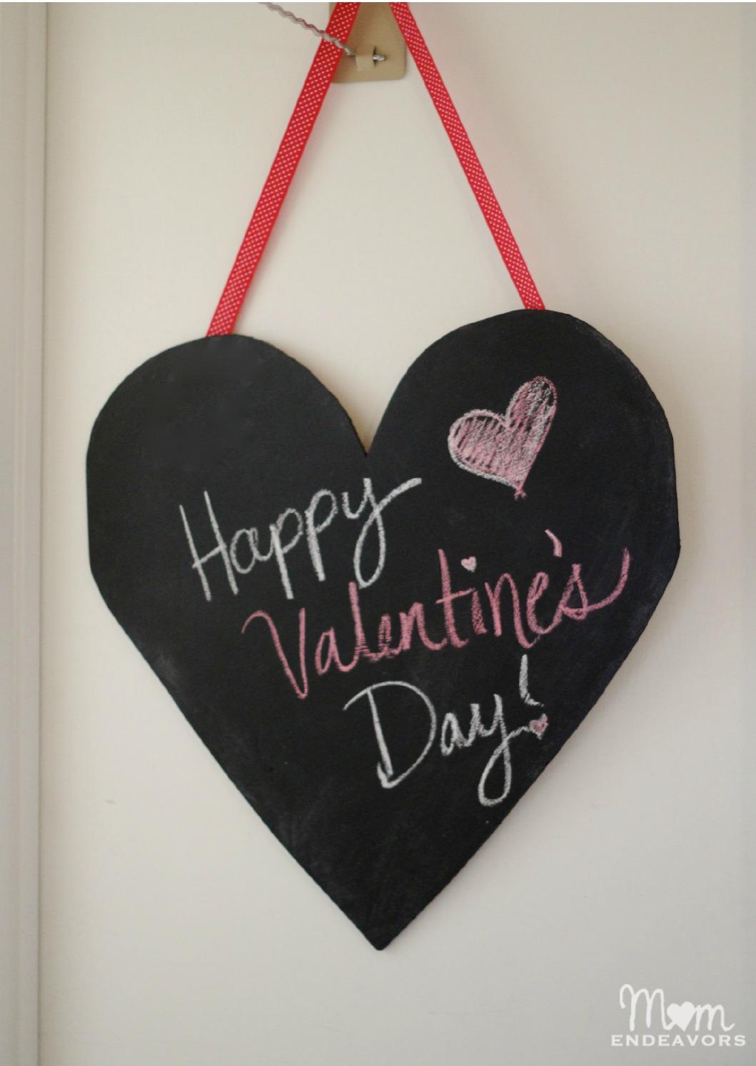 Large Diy Chalkboard Heart