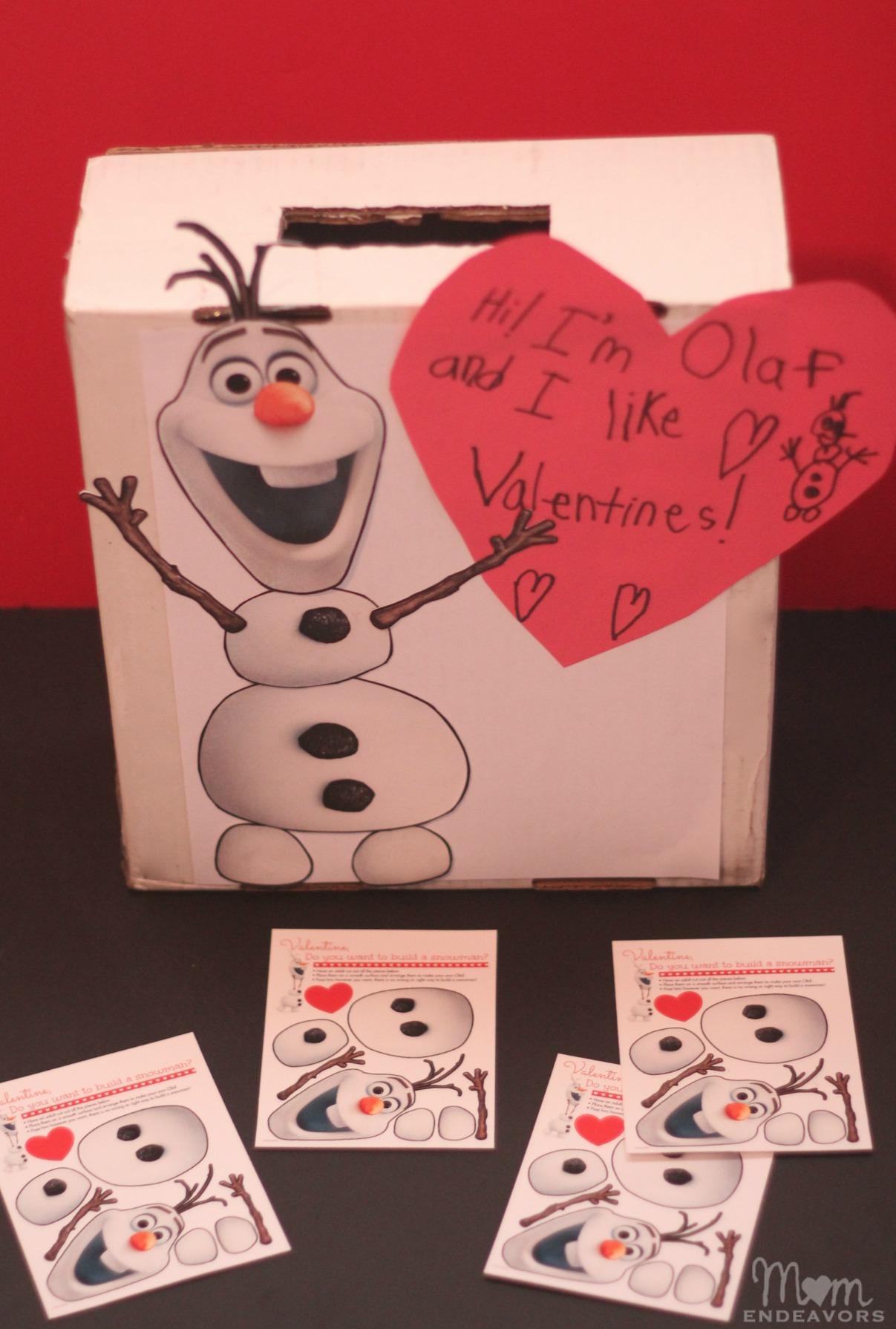 Disney S Frozen Olaf Valentines Mailbox
