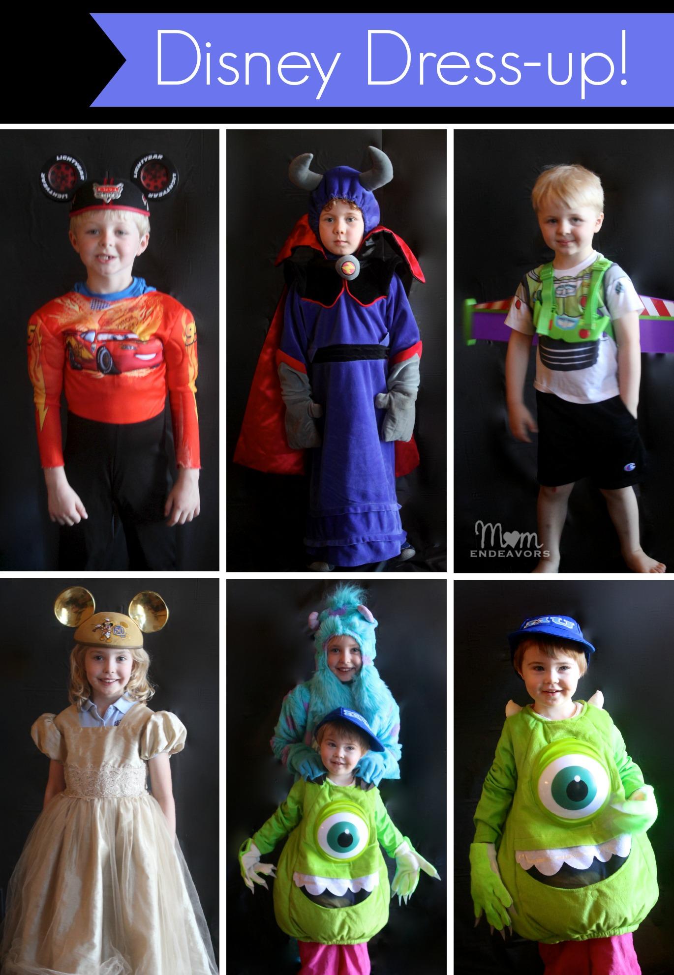 Disney Dress-up Photo Booth #Disneyside