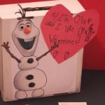 Disney Frozen's Olaf DIY Valentines Mailbox