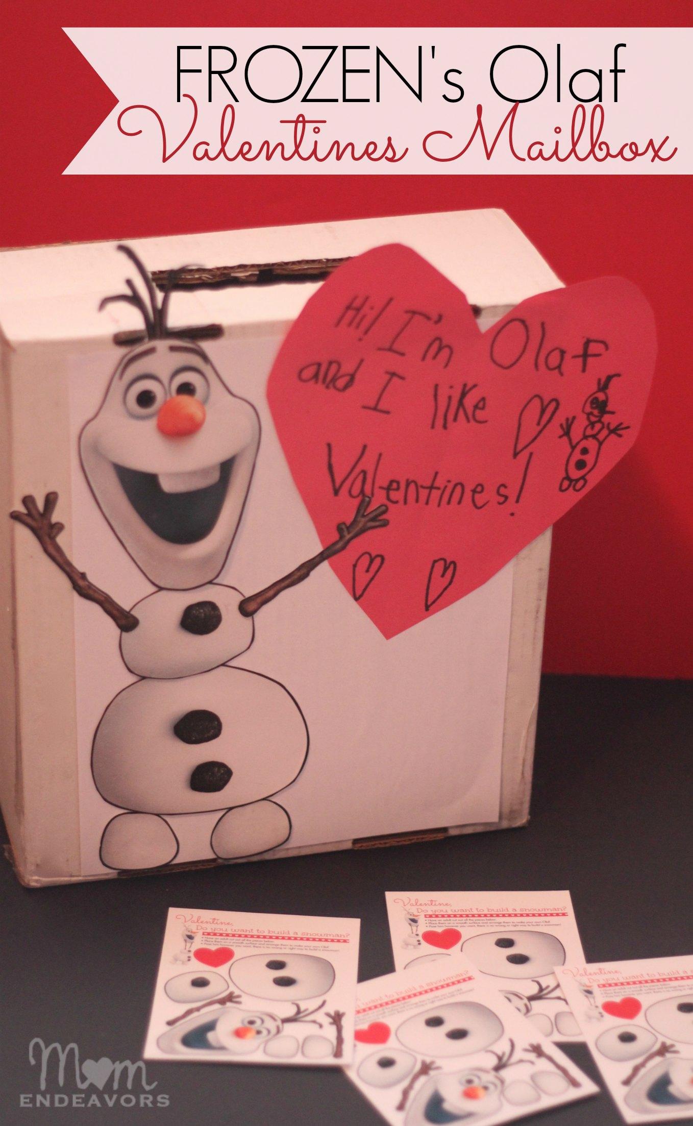 10 FREE Disney FROZEN Printable Valentines – Disney Valentine Cards Printable