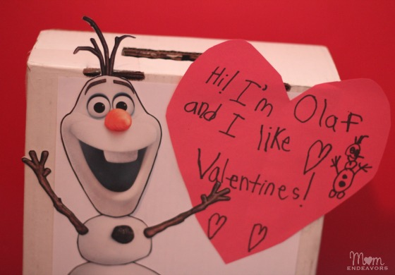 Disney's Olaf Valentine
