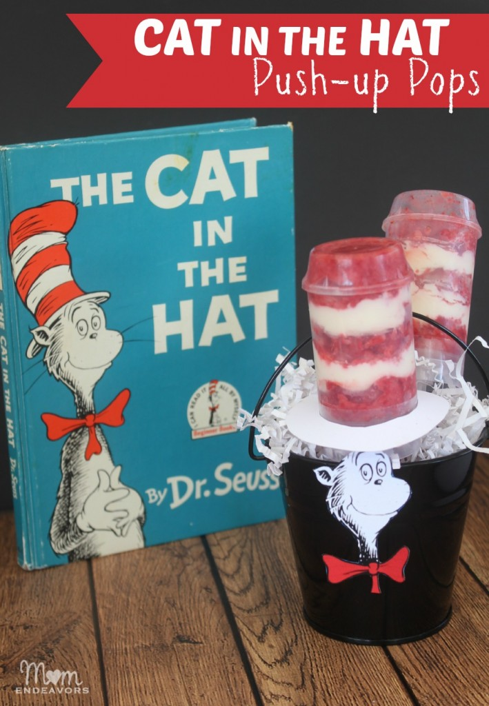 Dr. Seuss Cat in the Hat Push-up Pops