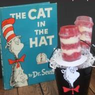 Dr. Seuss Fun Food: Cat in the Hat Strawberries 'n Cream Push Pops