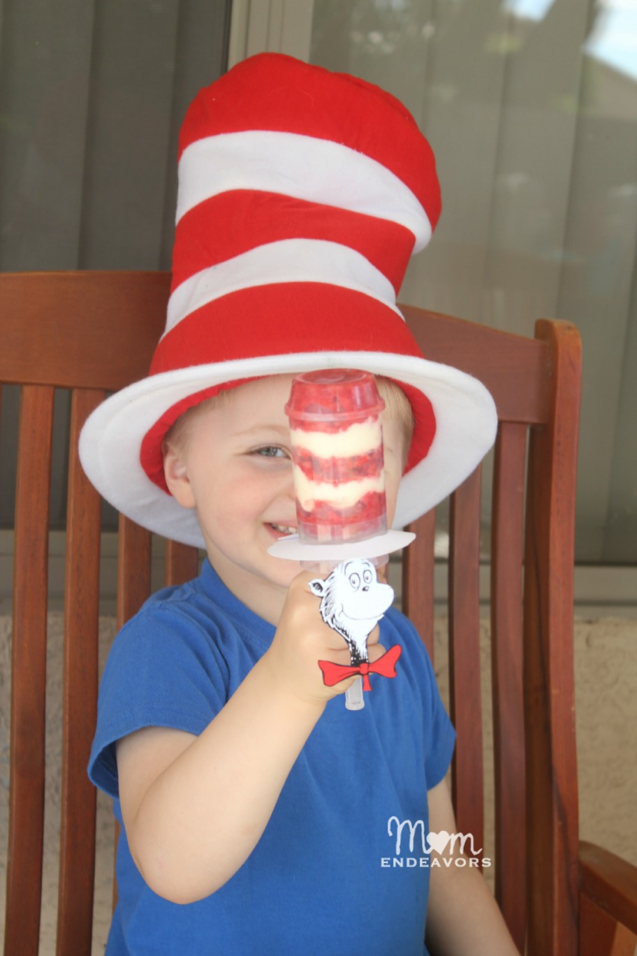 Dr. Seuss Push Pop Treat