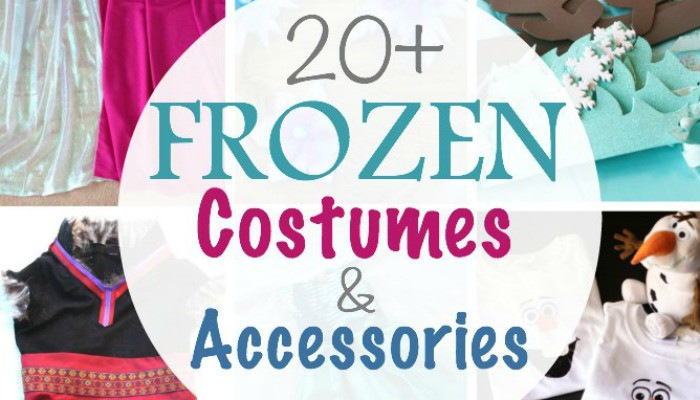 Frozen Costumes Slider