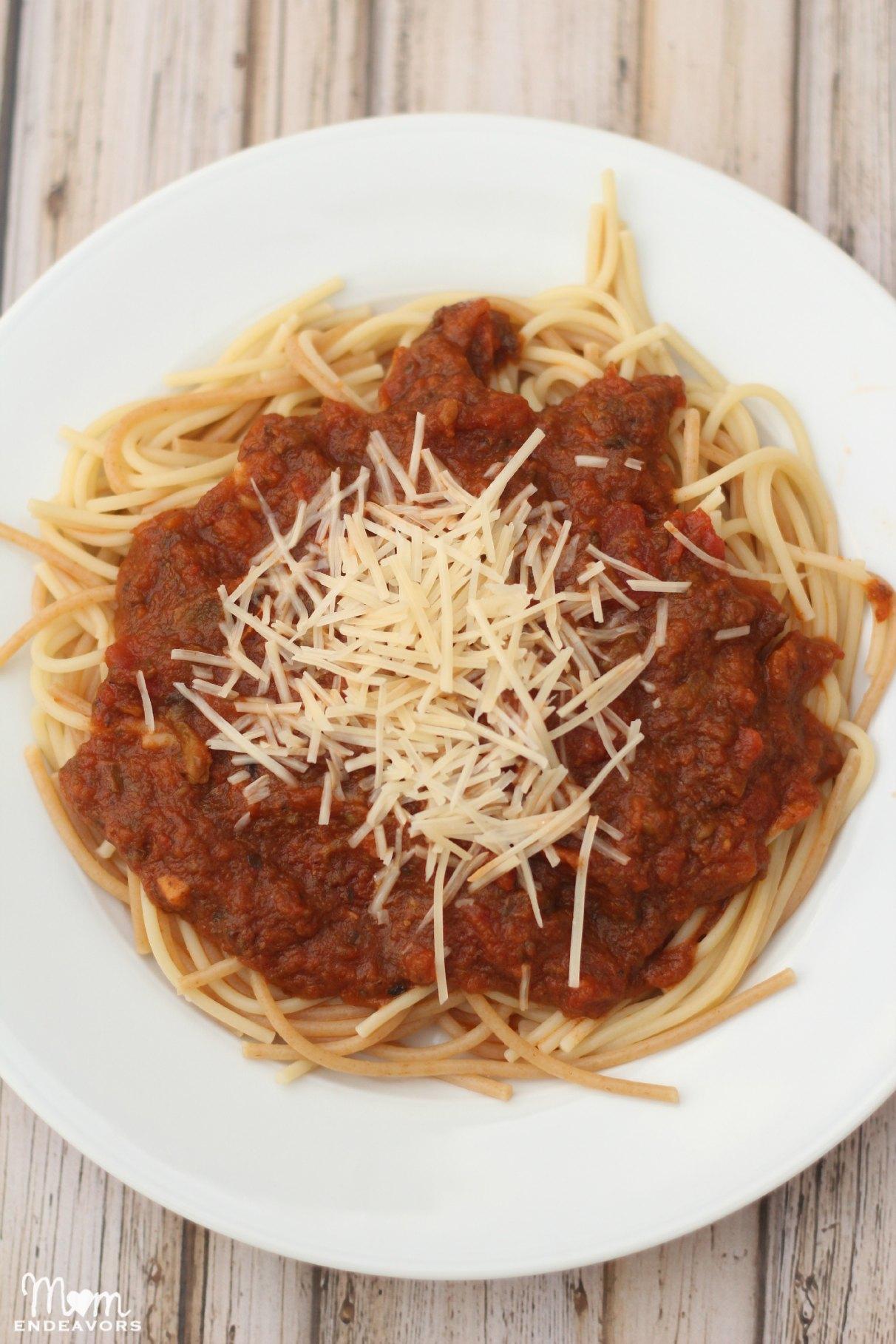 Healthy Hidden Veggie Pasta Sauce