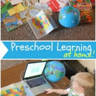 Preschool Learning at Home with EmbarK12 {+ a giveaway!}