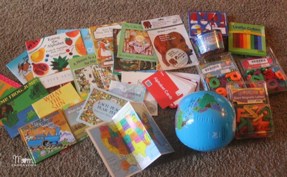 Homeschool Preschool materials