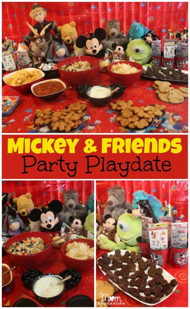 Mickey & Friends #Disneyside Party Playdate
