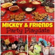 Mickey & Friends Party Playdate #Disneyside