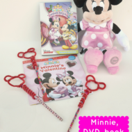 Mickey Mouse Clubhouse Minnie-rella DVD & DIY Mickey Pencil Toppers