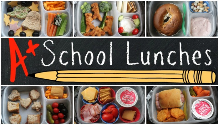 School Lunch Ideas Slider