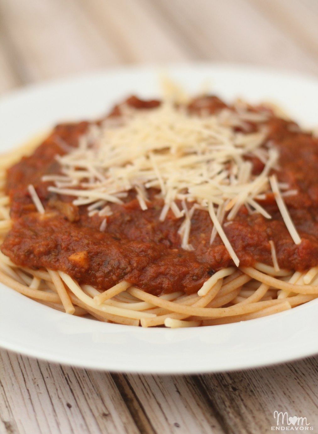 Sneaky Spinach Spaghetti Sauce