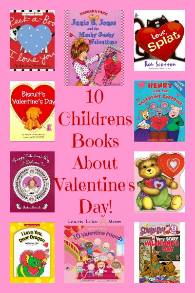 10 valentines day childrens books