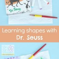 Dr. Seuss Shape Recognition Activity