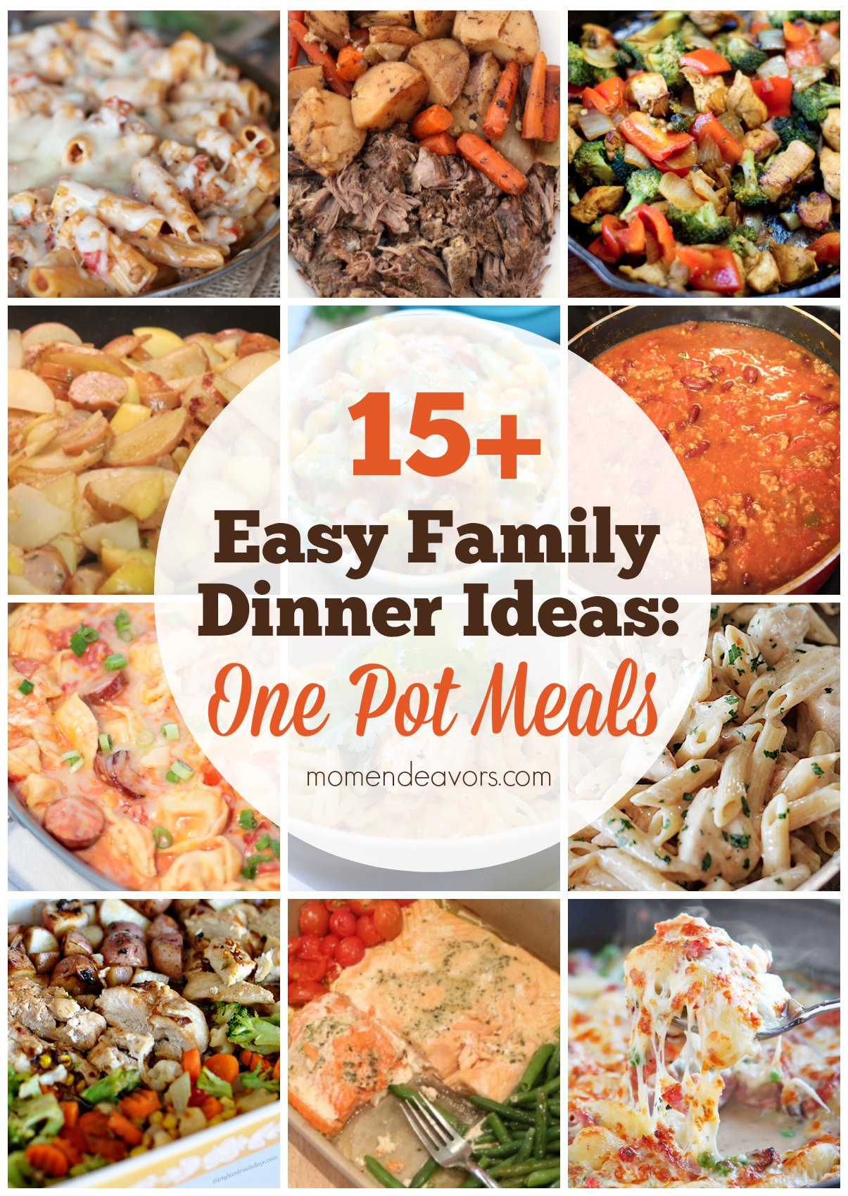 15+ One Pot Meal Recipes