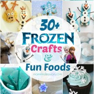 30+ Disney Frozen Crafts & Fun Food Ideas