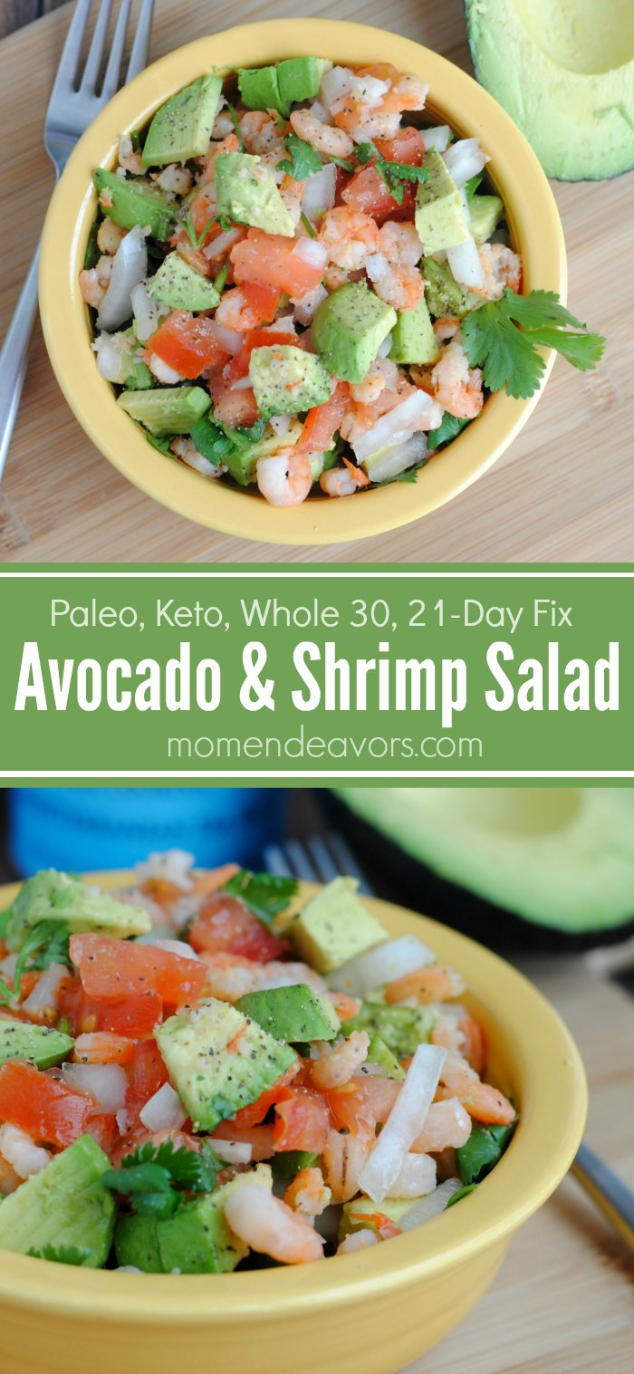 Avocado & Shrimp Salad Recipe